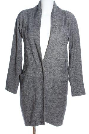 Blacky Dress Wollmantel hellgrau meliert Casual-Look