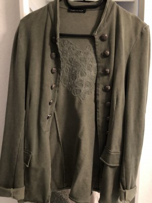 0039 Italy Jersey blazer khaki
