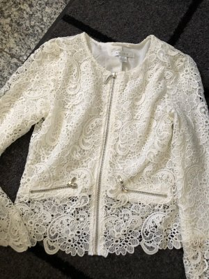 Amisu Blazer sweat blanc cassé-blanc