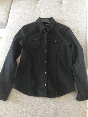 Liebeskind Berlin Blazer en jean noir coton