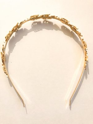 Hair Circlet gold-colored
