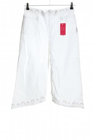 Blanc du Nil 3/4 Length Trousers white casual look