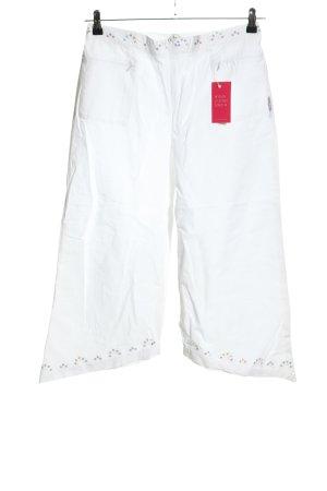 Blanc du Nil 3/4-broek wit casual uitstraling