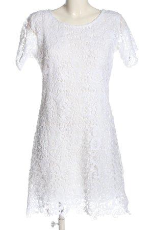 Blanc du Nil Shortsleeve Dress white elegant