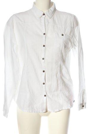 Blanc du Nil Shirt met lange mouwen wit casual uitstraling