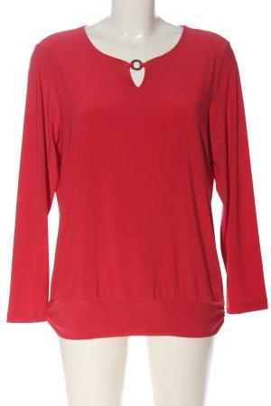 blanca Bluzka z długim rękawem czerwony Elegancki