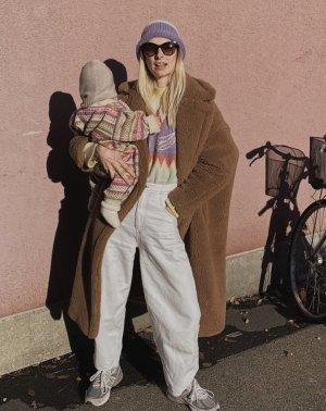Blanca Miro for EDITED Pullover 36 Sweater mit Muster und Früchten