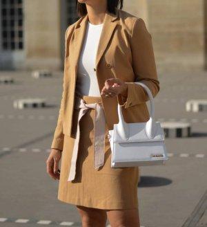 Blanche Blazer corto beige-color cammello