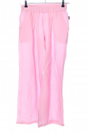 Leinenhose pink Casual-Look