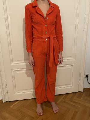 Blanche Tailleur-pantalon orange