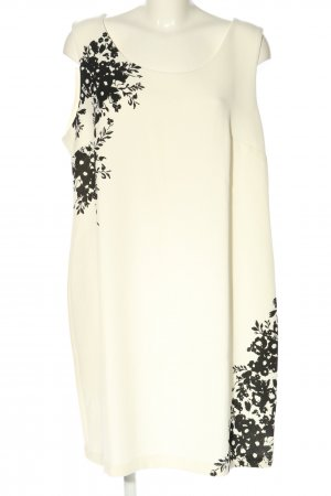 Blancheporte Sheath Dress cream-black abstract pattern casual look