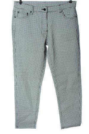 Blancheporte Spodnie biodrówki czarny-biały Na całej powierzchni