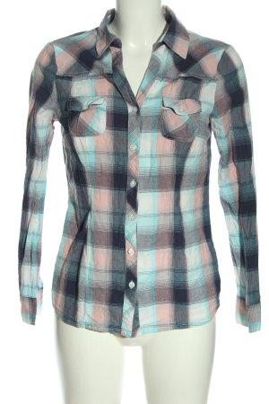 Blancheporte Koszula z długim rękawem Wzór w kratkę W stylu casual