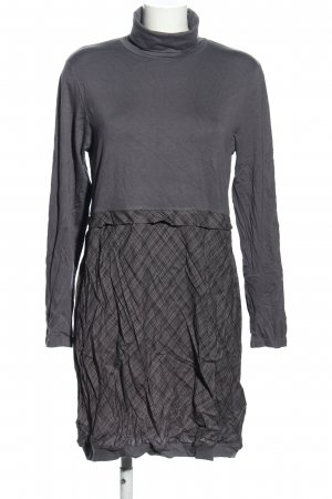 Blancheporte Mini Dress light grey check pattern casual look