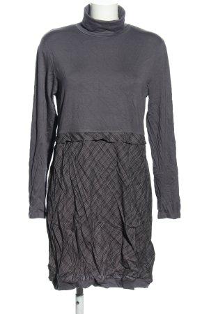 Blancheporte Sukienka mini jasnoszary Wzór w kratkę W stylu casual