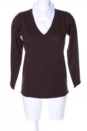 Blancheporte Knitted Sweater brown business style