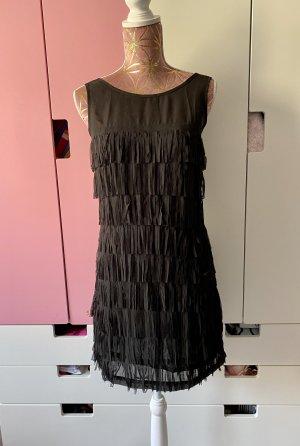 Blanco Sukienka z frędzlami czarny