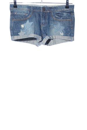 Blanco Jeansshorts blau Casual-Look
