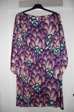 Blanco Kleid buntgemustert luftigleicht Größe L/40