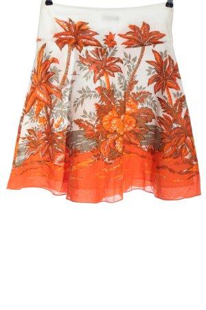 Blanco Midi Skirt allover print casual look