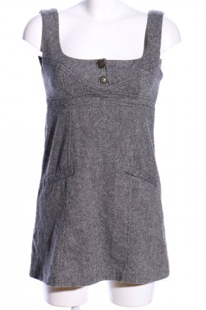 Blanco Mini Dress light grey flecked casual look