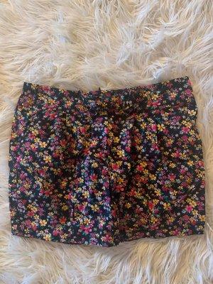 Blanco Rock Blumenmuster schwarz pink