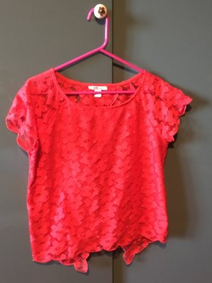 Blanco Blouse red