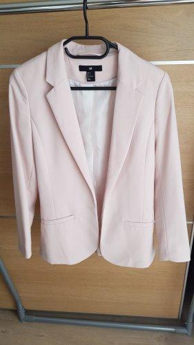 H&M Klassischer Blazer rosa pallido