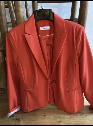 Yessica Blazer in jersey rosso