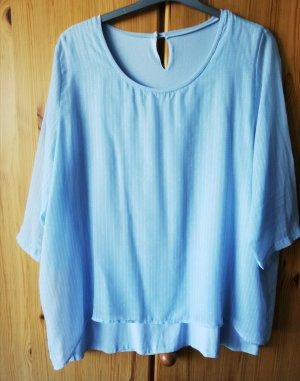 Anna Aura Shirt Tunic pale blue-azure