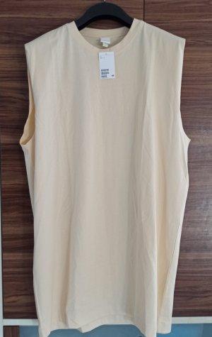 H&M Shirt Dress pale yellow