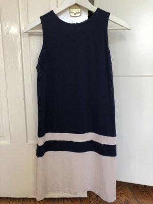 Aqua Dress dark blue-natural white