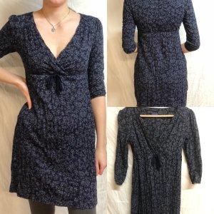 Blau geblümtes Kleid von Esprit XS