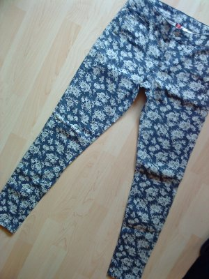 H&M Stretch Trousers multicolored cotton