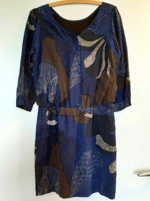 Quiksilver Midi Dress blue-beige