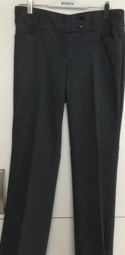 3 OLIVES Pantalon en jersey bleu foncé-gris