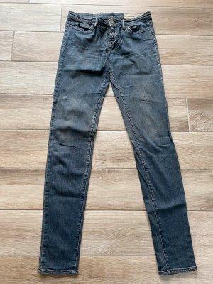 Blau/graue Jeans von All Saints, Gr. 27/34