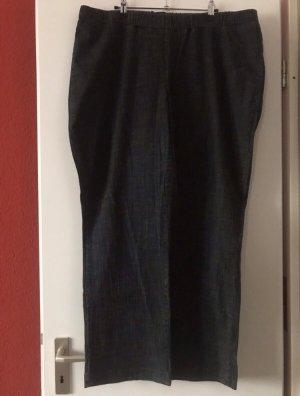 Yessica Jeans a vita alta blu scuro-grigio Tessuto misto