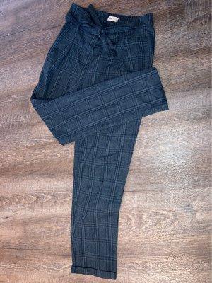 24 colours Pantalon à pinces vert foncé-bleu foncé