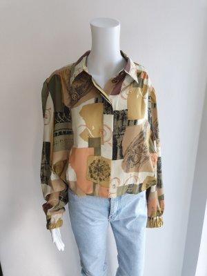 blau hellblau Hemd True vintage Bluse oversize pulli pullover top Shirt