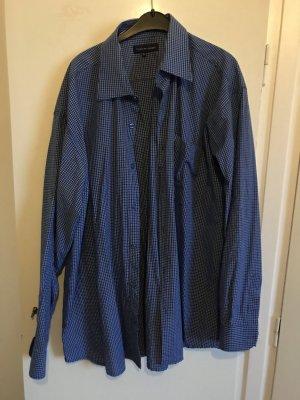 Blau/ kariertes Oversized Hemd von Tommy Hilfiger Gr XL