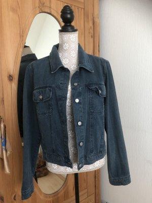 Blau kurze Jeansjacke - Camera Woman