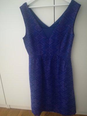 Anthropologie Sukienka koktajlowa fiolet-niebieski