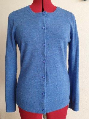 Tkmaxx Knitted Cardigan cornflower blue wool