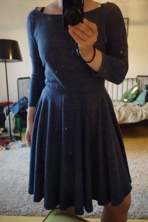 Blau-meliertes Kleid von Anthropologie