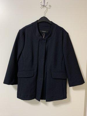 Blau-schwarzer Opus-Blazer, ungetragen mit Hahnentritt-Muster