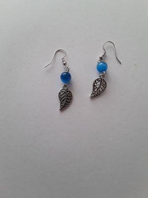 Dangle silver-colored-blue