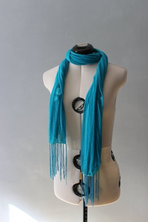 blau/ türkiser Schal
