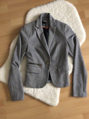 Pimkie Jersey blazer wit-blauw