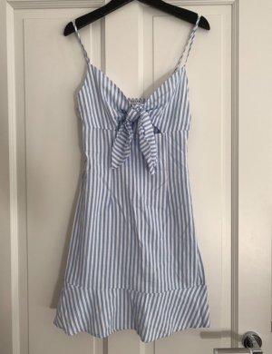 Blau weiß gestreiftes Kleid von loavies